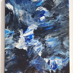 """Dark & Stormy"" 60 x 40cm - (24x16"") in Wall Art"