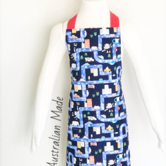 Boys Map Apron FREE Post!