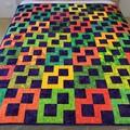 CITRUS MADNESS handmade Quilt