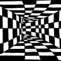 """Optical Illusion""  Watercolour Print"