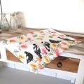 Magpies Tea Towel, Australian Bird Tea Towel, Tea Towels