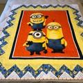 MINIONS handmade Quilt