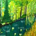 """Willow Pond""  Watercolour Print"