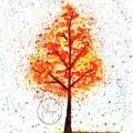 """Autumn Bliss"" Watercolour Print"
