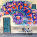 """Mandala Street"" Acrylic Painting Printed on Fine Art Canvas"