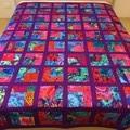 KAFFE FLORAL  handmade quilt