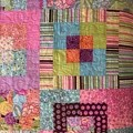 URBAN GARDEN handmade quilt