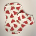 Bandana bib and burp cloth