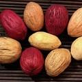 Amra Pods - Orange, yellow or hot pink - Dryed - Natural - Christmas - 6pcs