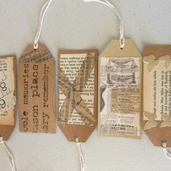 5 pack of  gift tags.