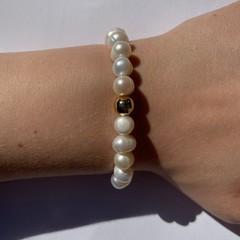 Natural Freshwater Pearl beaded bracelet