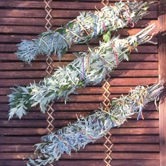 Mugwort & Wormwood Smoke Wand (Smudge Stick)