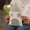Tooth Fairy Pillow House in Sage Green