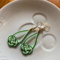 Free Postage!  mizuhiki knot earrings