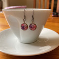 Free Postage!  resin hook earrings