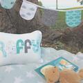 Baby's Name Cushion & Bunting Gift Set