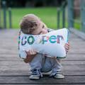 Child's Name Cushion & Bunting Gift Set