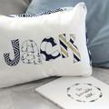 Nautical Name Cushion & Bunting Gift Set
