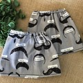 I mustache you a question  Adult Sock Protectors