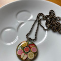 Free Postage, Fruit salad resin necklace
