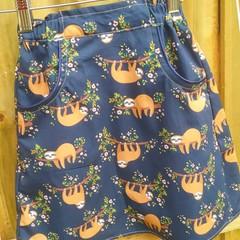 Size 6 Sloth Skirt