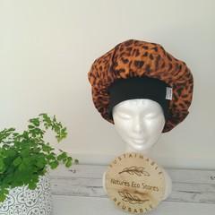 Satin sleep bonnet