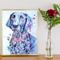 Custom Made Watercolour Pet Portraits - A4 210 x 297 mm