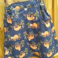 Size 6 Sloth Skirt