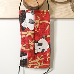 Protective Hygiene Face Mask - Panda Art