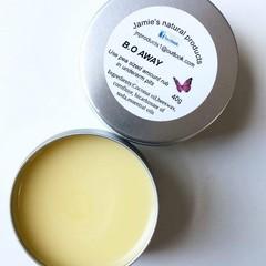 B.o away natural deodorant