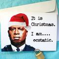 Brooklyn Nine Nine Captain Holt Funny Christmas Card