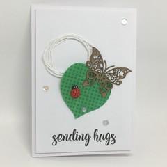 Blank Card - Sending Hugs