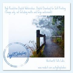 Summer Mist 5, Watercolour Effect