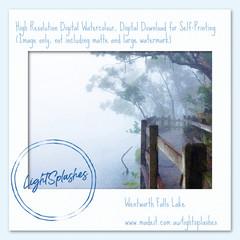 Summer Mist 4, Watercolour Effect