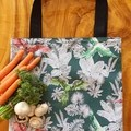 "Market Tote Bag "" Parrots"""