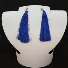 Tassel earrings stud post