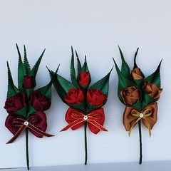 Boutonniere  #LDB64,3 Colours