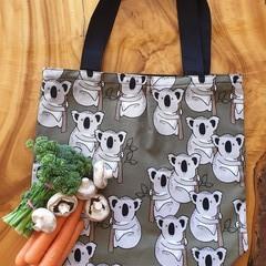 "Market Tote Bag "" Koalas"""