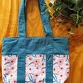 "Tote bag "" Gumnut flowers"""