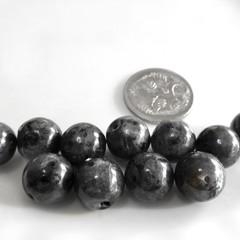 11 x 9mm Larkvite gemstone beads Destash