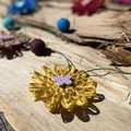 Felt Ball Jute Raffia Flower Hanging Garland Natural Fibre Decoration Butterfly