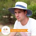 Man Sun Hat Pattern. PDF Sewing Pattern Mens Reversible Brimmed Sunhat