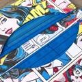 Novelty Fold Up Women's Wallet/Clutch -Wonder Woman