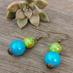 The Stones of Two Worlds - Earrings