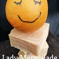 'Lady Marmalade' Orange and Lime Handmade Soap