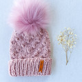 VARPU BEANIE - FITS BABY 3 TO 6 MONTHS OLD - VARIOUS COLOURS