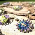 Jute Twine Paper Raffia Flower Hanging Garland Boho Bohemian Home Decoration