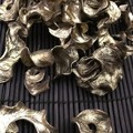 Curly Pods - Gold - Dryed - Natural - 20gr - Christmas, wedding, deco, table