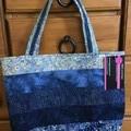 Handbag Batik Print