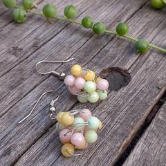 Bubblegum Ball Earrings